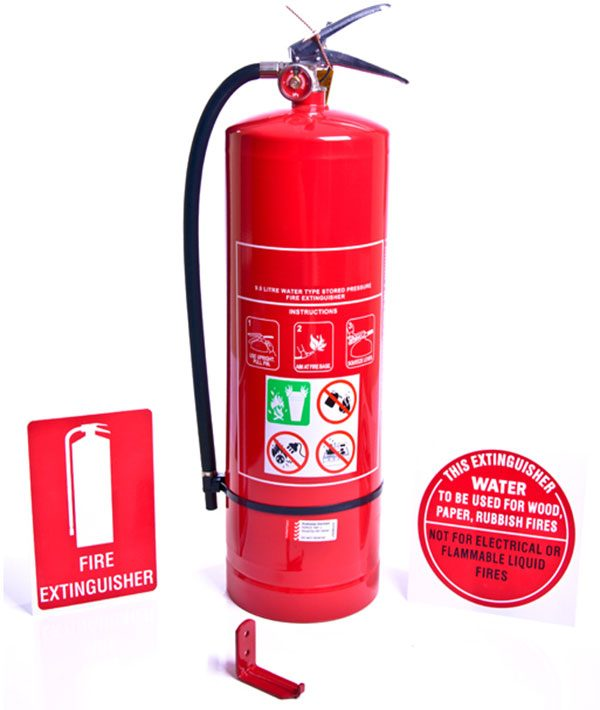 H2O WATER FIRE EXTINGUISHER